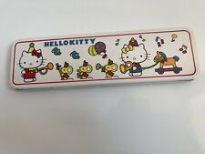 Hello Kitty - Pencil Tin Box - Sanrio - Vintage 1976 - Japan - Stationery