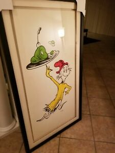 "Dr Seuss  THEODOR GEISEL       ""Green Eggs And Ham  50th Anniv.""     MAKE OFFER"