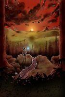 Zelda 2 A3 Poster G624