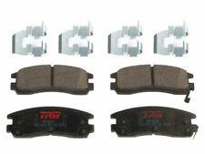 For 1991-1992 Saturn SC Brake Pad Set Rear TRW 31571CY Ceramic Premium
