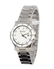Bulova Stainless Steel Band Women's Dress/Formal Watches