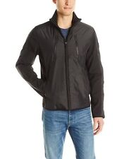 NWT Calvin Klein Lifestyle Light Nylon Jacket with Poly Fill - Blk Full zip - M