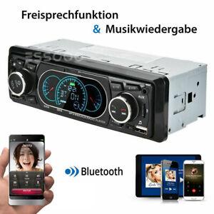 1 DIN Autoradio mit Bluetooth Freisprecheinrichtung 2 USB AUX Stereo OHNE CD