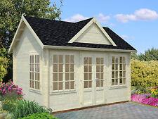 Gartenhaus Claudia 2 / Chloe Gerätehaus Blockhaus Holzhaus Schuppen 420x320 cm,