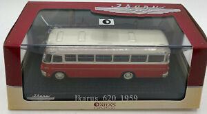 EBOND Modellino Ikarus 620 - 1959 - BUS - Atlas Edition - 1:72 - 0148