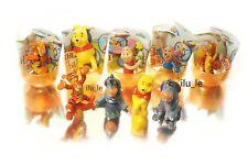 6psc Disney Winnie the Pooh Toys Kinder Surprise Eggs Party Favor mini figures