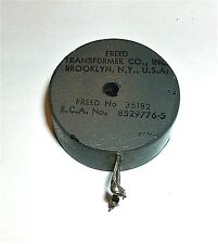 Vintage Freed Transformer Filter Band Pass 35182 Rca 8529776 5