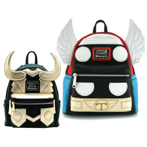 Avengers Travel Rucksack Marvel Loki Loungefly Backpacks Thor Shoulders Bag