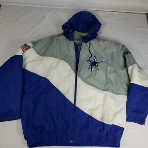 Vintage Dallas Cowboys Authentic Pro Line Apex One Jacket Size extra large