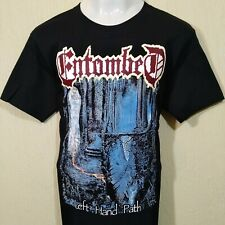 Entombed BLACK death metal music band T-Shirt Left Hand Path All size S-5XL