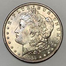 1889 Morgan Dollar Hot 50 Vam Variety VAM 16 Doubled Ear Brilliant Uncirculated