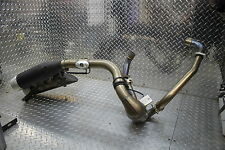 2009 DUCATI HYPERMOTARD 1100 S FULL STOCK EXHAUST PIPE SYSTEM