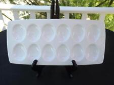 Bret Bortner BIA For Crate & Barrel Deviled Egg Tray Plate