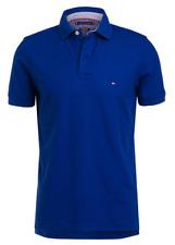 Neu! TOMMY HILFIGER Gr [ XXL ] BLAU Poloshirt Herren Kurzarm Polo Shirt T-Shirt