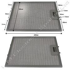 2x 320x260 mm Horno Metal Campana Extractora De Cocina Filtros Ventilación Para