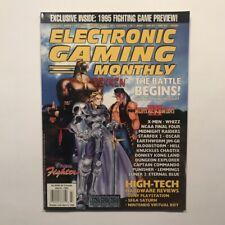 Electronic Gaming Monthly Magazine #68, April 1995, EGM, Tekken