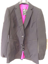 Ladies Pure New Wool fully lined Black Jacket Size 12