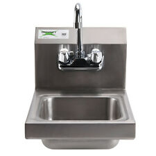 """12"""" x 16"""" Wall Mount Nsf Hand Wash Sink Commercial R 00004000 estaurant Stainless Steel"""