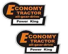 On Sale- Pair Of - 3 Color Economy Tractor Vinyl Decal