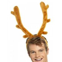 Stag Night Antlers Bachelor Party Reindeer Horns New by Smiffys