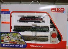Piko 57132, Spur H0, Startset mit DB 220 018-6 und 2 Personenw DC / Gleichstrom