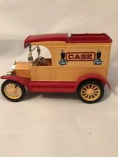 Ertl Case Die Cast Metal 1913 Model T Van Coin Bank - Case