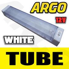 12V VOLT 8W SINGLE TUBE FLUORESCENT TUBE STRIP INTERIOR LIGHT CARAVAN CABIN BOAT