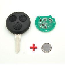 Clé avec électronique vierge à programmer Smart Fortwo 450 Forfour