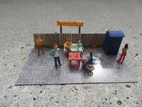 PREISER - Diorama HO Figuren    Feste feiern..