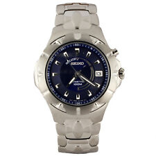 Seiko SKA193 stainless steal kenetic watch for men with power reserve indicator