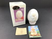 Precious Moments A Reflection Of His Love Easter Egg on Stand Figurine in box