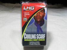 LHG Sports ~ Cooling Scarf ~ Reusable Body Cooler ~ NIB