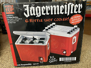 Jägermeister 6 Bottle Shot Cooler