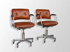 paire de fauteuils vintage 1970 tubulaires