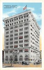 Shreveport Louisiana~Commercial National Bank Building~Market St~1920s Cars~PC