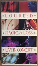 Magic and Loss: Live in Concert by Lou Reed (VHS, Aug-1992, Sire/Warner Reprise…