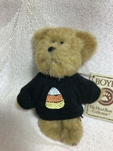 Boyds Bear Mini Message Bear ~ Candy Corn Bear