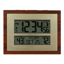 Better Homes and Gardens Atomic Clock with Forecast W