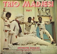 """TRIO MADJESI """"ORCHESTRE SOSOLISO"""" AFRICAN SOUKOUS LP 1973 AFRICAN 360.043"""
