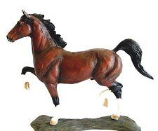 """BORDER FINE ARTS STUDIO COLLECTION """"ACTION HORSE"""" HACKNEY"""