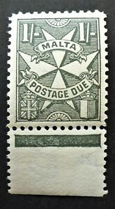 MALTA #J19 VERY FINE NH** POSTAGE DUE   CAN. SHIP $1.99 COMBINED SHIPPING