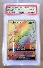 TAUROS GX | PSA 10 (MT) | Hyper ☆ Pokemon Card