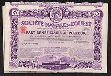 DECO => Societe NAVALE de l'OUEST (C)