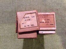 Antique Eyeglass Lenses /2 Boxes unused