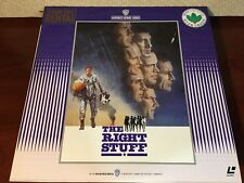 Laserdisc THE RIGHT STUFF Japan Import LD w/o OBI 1983 RL-20014