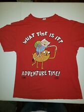 """💥Adventure Time💥 """"What Time Is It""""💥 Delta Apparel, 💥Medium Tee Shirt💥"""