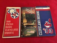 1980-2018 MLB Cleveland Indians media guide / You pick 'em / Alomar / Thome