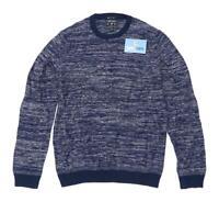 American Eagle Mens Size S Cotton Blend Blue Jumper