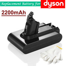 For Dyson V6 DC58 DC59 DC61 DC62 Animal Vacuum Li-ion Battery 21.6V 2200mAh US