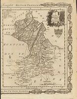 1784  ANTIQUE MAP-A NEW MAP OF CAMBRIDGESHIRE